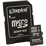 Kingston 3 Pack 32GB Class 4 MicroSD Flash Card Value Bundle