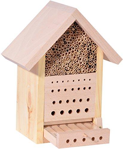 Luxus-Insektenhotels 22642e Design Bienenhotel Maja II, 23 x 29 x 14 cm