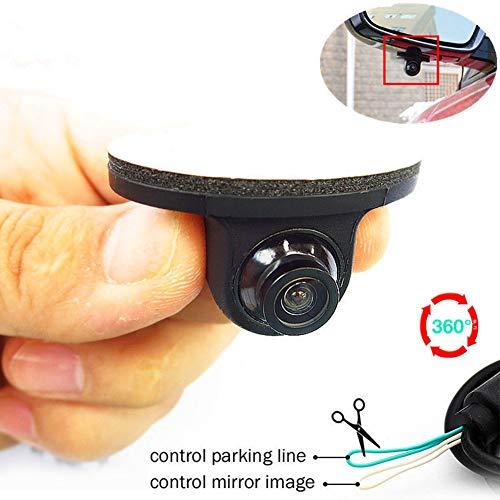 Auto Rückfahrkamera HD Einsgut 12V Mini CCD Kommt HD Nachtsicht 360 ° Auto Hinten Vorne Seitenansicht Backup Kamera -