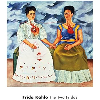 frida kahlo die zwei fridas 1939 kunstdruck 50 80 x 55. Black Bedroom Furniture Sets. Home Design Ideas