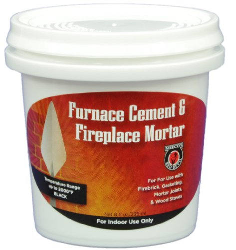 MEECO'S RED DEVIL 1332 Furnace Cement and Fireplace Mortar
