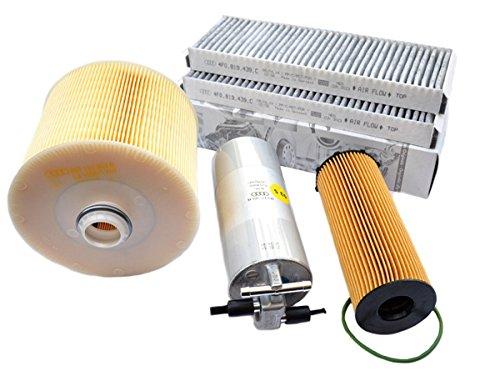 Novità. Originale Audi parti A6 4 F Allroad 2.7L 3.0L TDI motore Kit d' ispezione filtro Service Kit 4 Pezzi dal 10/2008