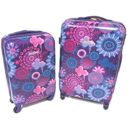 Set 2 maletas trolley abs 'Gabol'púrpura - 66x44x28 y 50x34x19 cm.