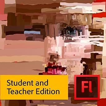 Adobe Flash Pro CS6,  Student and Teacher Edition (Mac)  [Download]