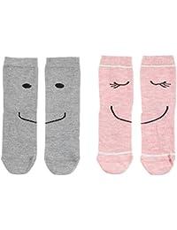 s.Oliver Socks Calcetines para Niñas (Pack de 2)