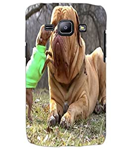 SAMSUNG GALAXY J1 DOG Back Cover by PRINTSWAG
