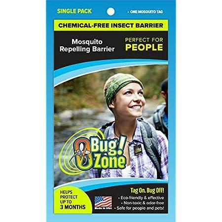 0Bug!Zone People Mückenschutzmarke, Einzelpackung