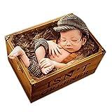 Accesorios de disfraz para bebé recién nacido con boina
