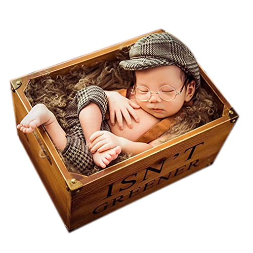 Newborn Baby Photography Props Boy Girl Photo Costumes Outfits Cap Rompers