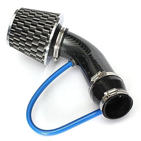 Audew Universal Car Automobile Racing Air Intake Filter Aluminum Pipe