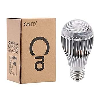 croled e27 9w rgb bunte led birne farbwechsel lampe licht 230v mit fernbedienung. Black Bedroom Furniture Sets. Home Design Ideas
