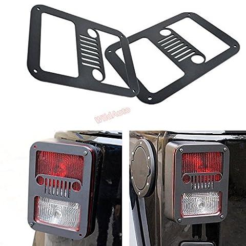 Wildauto–Jeep Wrangler arrière Coque–pour 2007–2017Jeep Wrangler JK Unlimited–Queue Shield