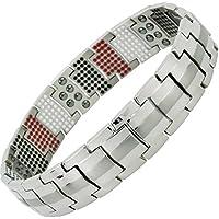 Herren Magnettherapie Armband alle größen Armband Titan für Arthritis Geburtstag Geschenke für Herren Golf Geschenke... preisvergleich bei billige-tabletten.eu