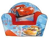 Jemini - Sillón infantil, diseño de Cars Club Ice Racing, con cremallera, multicolor (712294)