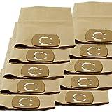 Staubsaugerbeutel Staubbeutel für Staubsauger Nass-Trockensauger 10 Stück Ersatz für Lux NT 30 L Container