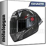 MOTOTOPGUN Shark he8415dkr Casque Moto Intégral GP Race-R Pro Redding TG S