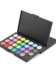 Tefamore 28 Colors Makeup Neutral Nudes Warm Eyeshadow Palette (B)