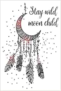 Details about  /Hexxie Notebook Brooke Stay Wild Moon Child A5 Hard Cover Cream 14x21cm