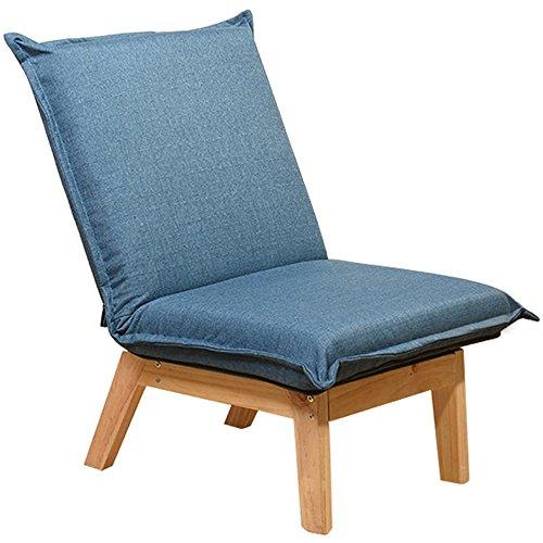 Sedia pigra feifei pieghevole comoda da soggiorno traspirante camera da letto balcone schienale poltrona reclinabile (colore : 01)