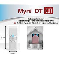 Sensor detector de cortina doble tecnología EEA Protección infissi MYNI DT CUT