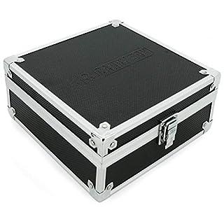 AR Carry Box® Kleine Alubox Alukoffer Aluminium Koffer Werkzeugkoffer leer 200x200x90mm Alu/Schwarz