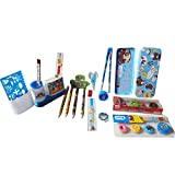#8: Stationary Set Which include Pencil, Sharpener, Eraser, Scale etc and greate gift for Kids and perfect combo of Stationary Items(27 Pic of Set)