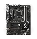 MSI Intel 1151 Socket Z370 Chipset Krait Gaming D4 ATX Motherboard - Black