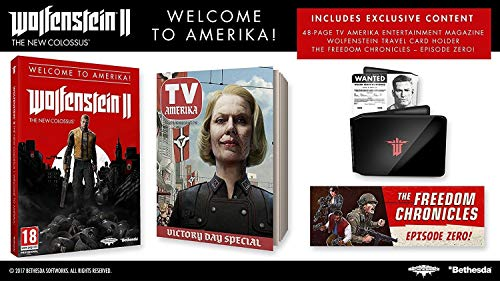 PS4 Wolfenstein II: The New Colossus - Welcome to Amerika! [PAL ITA]