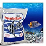 Kieskönig Aquariensand Aquariumsand Bodengrund 1-2 mm Aquarienkies hochrein Naturweiss 20 kg (4 x 5 kg Beutel)