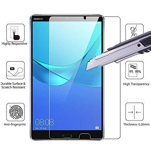 Für Huawei MediaPad M58.4Displayschutzfolie, Mobile Stuff Premium Clear Displayschutz für Huawei MediaPad M5821,3cm Tablet 2018Release