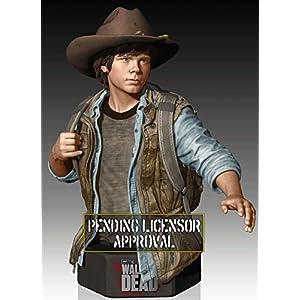 Figura Busto Walking Dead Carl Grimes 1/6