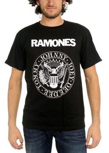 Ramones Seal T Shirt (Schwarz)