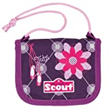 Scout 25190055500 Fahrausweishülle, 13 cm, Violett