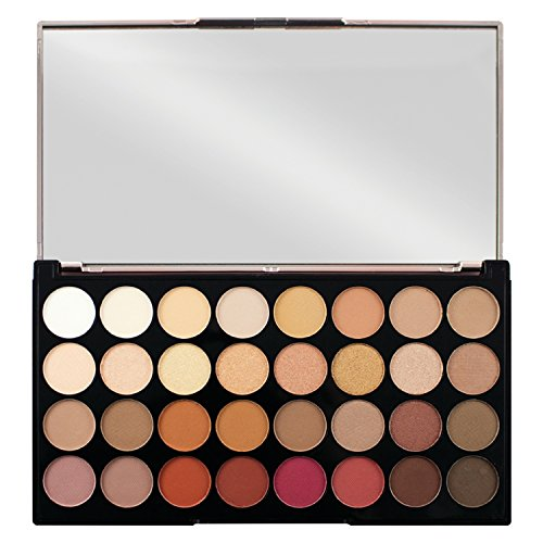 Pinsel-palette (Revolution Ultra 32 Eyeshadow Lidschatten Palette Flawless 3 Resurrection)