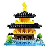 Nanoblock - Luoghi Kinkaku-Ji, Padiglione d'Oro