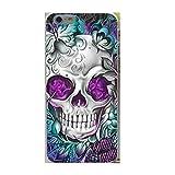 Coque Téléphone Iphone 7 / Iphone 8 , rigide , tete de mort , squelette , crane ,...