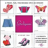 Das außergwöhnliche Origami Buch mit ausführlichen Anleitungen und Origami Faltpapier, für ausgefallenes Fashion Origami. Der originelle Origami Trend für Girls, Mode zum selber falten