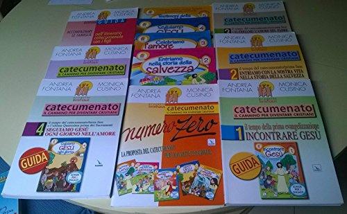 Lotto 6 guide catecumenato + 4 fascicoli schede per i ragazzi + numero zero