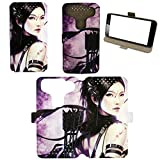 Flip Pu Leather Carcasa Cover para Funda Blusens Smart Beauty 2 Funda XN
