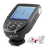 Godox Xpro-P für Pentax TTL Drahtloser Blitzauslöser, 1/8000s HSS,TTL-Convert-Manuelle Funktion, Großer Bildschirm, 5 Dedizierte Gruppentasten, mit JYPHOTO Reinigungsset