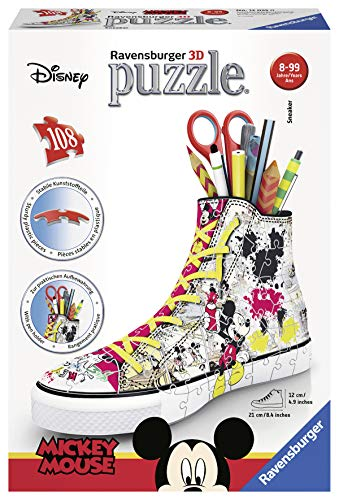 Ravensburger Sneaker Disney Topolino - Puzzle 3D Portapenne