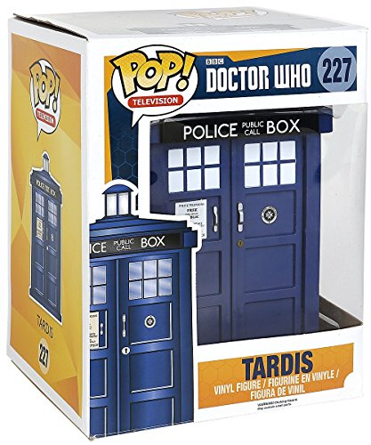 POP Doctor Who 6 TARDIS Vinyl Figure