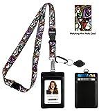9f5102534238 Pablo Picasso Girl Before a Mirror Correa para el cuello del acollador con  cartera de ID de cuero de la PU Monedero con 3 bolsillos para tarjetas