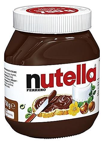Ferrero Nutella - Nuss-Nougat-Creme - 750g (Nutella Ferrero)