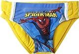 Spiderman Badehose 'Spidersense Yellow'