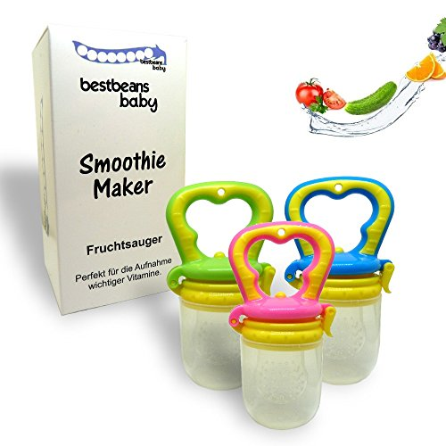 Bestbeans Baby Smoothie Maker Chupete chupete frutas