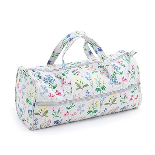 Tissu Sac à tricoter (Poignées) - Spring Garden   Hobby Gift Mr4698 \ 272   15 x 42 x 17 œ cm