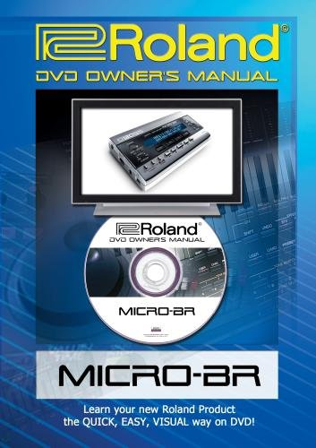 Roland (Boss) Micro-BR DVD Video Training Tutorial Help (Boss Micro Br)