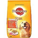 Pedigree Adult Dry Dog Food, Meat and Vegetables, 20kg Pack