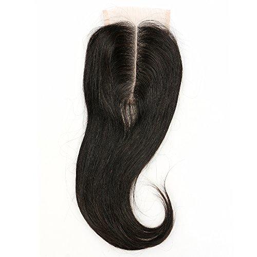 blisshair 7 Une partie Cheveux indiens vierges 100% humains milieu Body Wave dentelle fermeture 3,5 x 4
